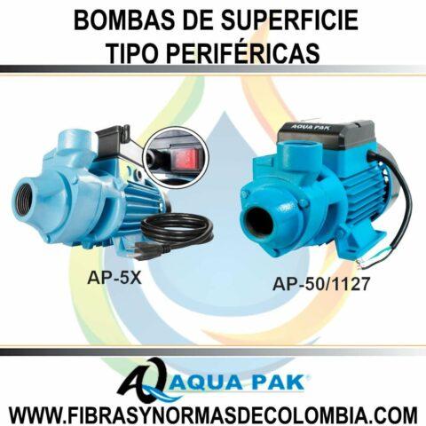 BOMBAS DE SUPERFICIE TIPO PERIFÉRICAS