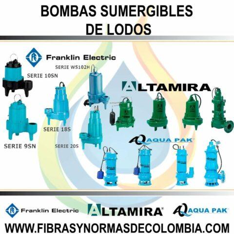 BOMBAS SUMERGIBLES DE LODOS