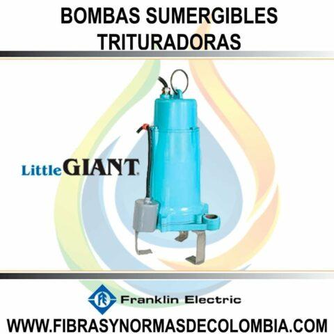 BOMBAS SUMERGIBLES TRITURADORAS