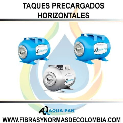 TAQUES PRECARGADOS HORIZONTALES