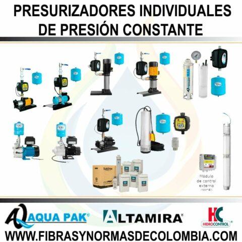 PRESURIZADORES INDIVIDUALES DE PRESIÓN CONSTANTE