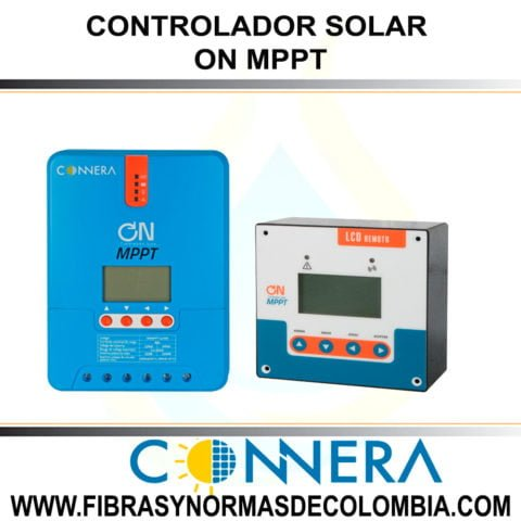 CONTROLADOR SOLAR ON MPPT