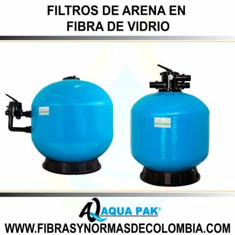 FILTROS DE ARENA EN FIBRA DE VIDRIO MARBLU