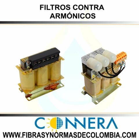 FILTROS CONTRA ARMÓNICOS